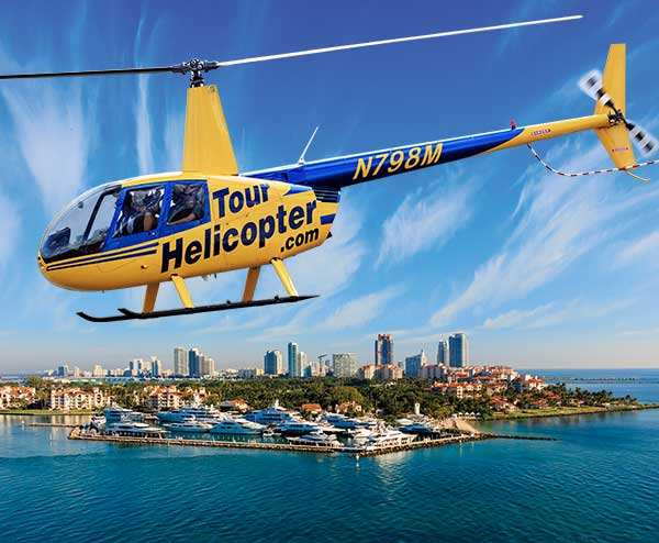 Tour Helicopter Robinson 44