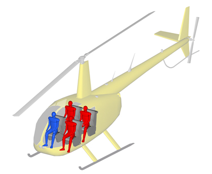 Tour Helicopter Robinson R44