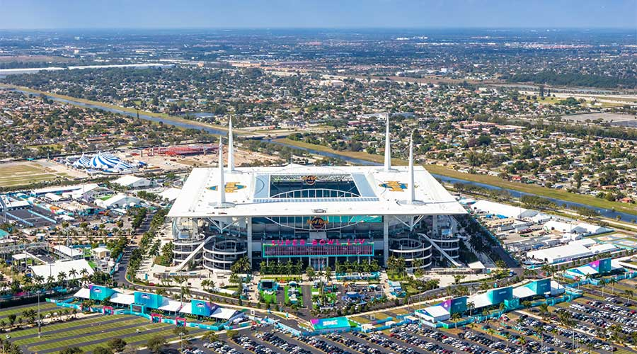 Hard Rock Stadium Super Bowl H1