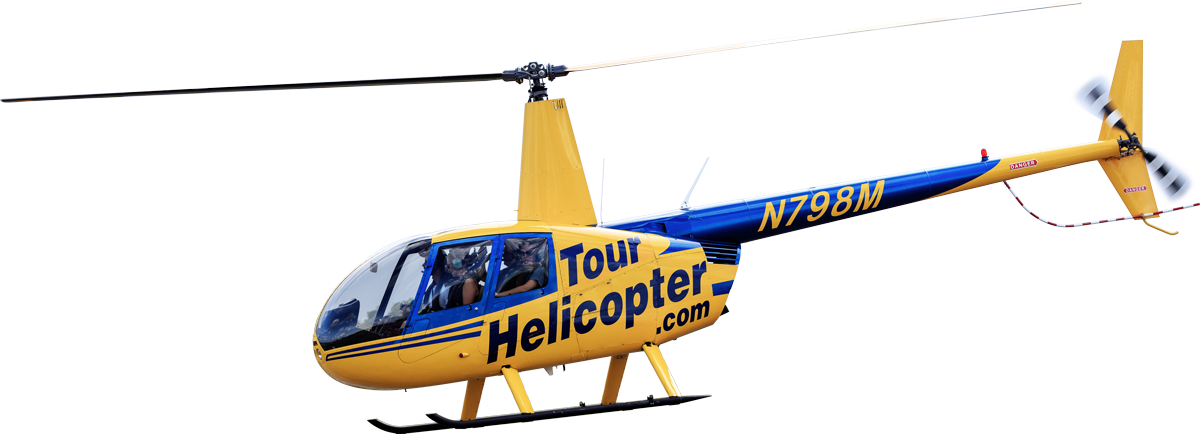 Helicopter tour Robinson R44